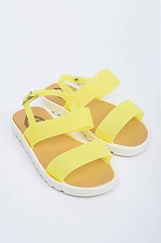 Босоножки детские желтые AAA 132901M