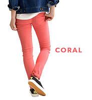 Японские эластичные женские брюки Zootie коралловые и других цветов