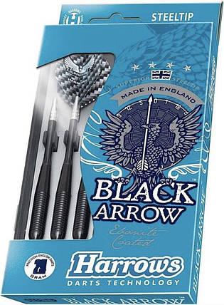 Дротики дартс Harrows Black Arrow с футляром, фото 2