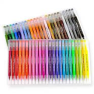 Великий набір маркерів 100 кольорів для малювання і скетчинга, двосторонні маркери на водній основі, фото 4