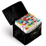 Набор профессиональных двухсторонних маркеров для скетчинга Touch Smooth 80 цветов, Художественные маркеры, фото 4