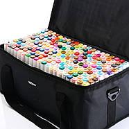 Якісні скетч маркери Touch Smooth 200 шт фломастери двосторонні спиртові для малювання і скетчинга, фото 3