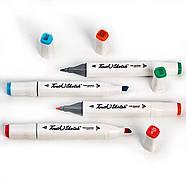 Набор спиртовых маркеров для скетчей Touch Sketch 80 шт, Художественные Двусторонние маркеры для рисования, фото 3