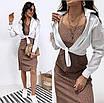 """Летнее платье сарафан в горошек """"Agata"""" В И, фото 3"""