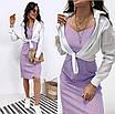 """Летнее платье сарафан в горошек """"Agata"""" В И, фото 4"""