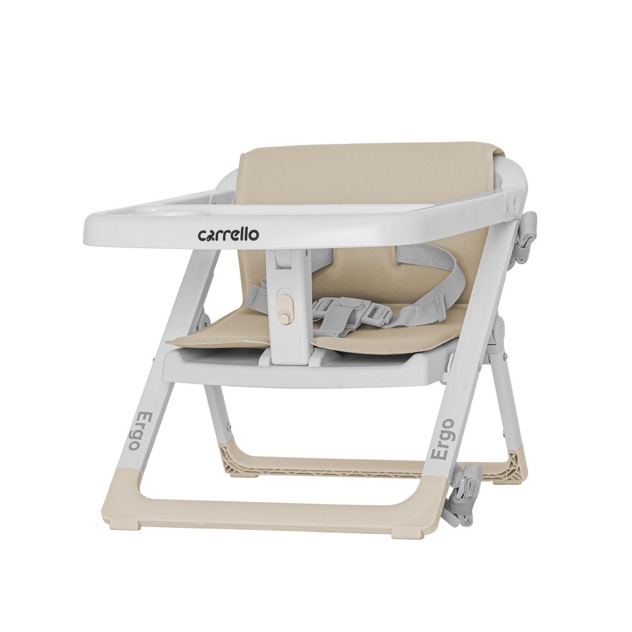 Стільчик - бустер для годування CARRELLO Ergo CRL-8403 Sand Beige/4/
