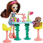 Игровой набор Энчантималс Салон красоты Сэлы Ленни с ленивцем Enchantimals Sela Sloth Оригинал, фото 8