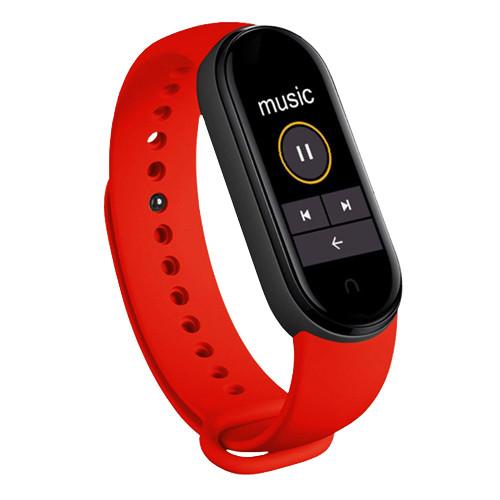Фитнес браслет Mi Band 6 (Copy) Красный