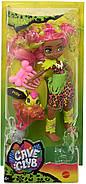 Лялька Фернесса і Птилли птеродактиль Печерний клуб 25 см Cave Club Fernessa Doll Mattel, фото 4
