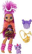 Кукла Роралея и тигренок Ферелл Пещерный клуб 25 см Cave Club Roaralai Doll Mattel, фото 5