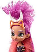 Кукла Роралея и тигренок Ферелл Пещерный клуб 25 см Cave Club Roaralai Doll Mattel, фото 9