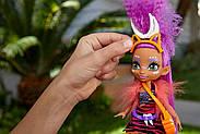 Лялька Роралея і тигреня Ферелл Печерний клуб 25 см Cave Club Roaralai Doll Mattel, фото 5