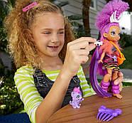 Лялька Роралея і тигреня Ферелл Печерний клуб 25 см Cave Club Roaralai Doll Mattel, фото 8