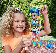 Лялька хлопчик Слейт і вихованець Тэгги Печерний клуб 25 см Cave Club Mattel, фото 4