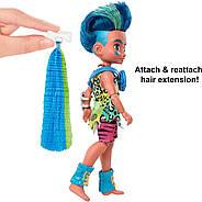 Лялька хлопчик Слейт і вихованець Тэгги Печерний клуб 25 см Cave Club Mattel, фото 9