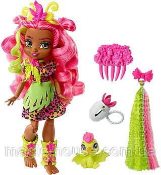 Игровой набор Cave Club кукла Фернесса и Птилли Пещерный клуб Fernessa оригинал от Mattel