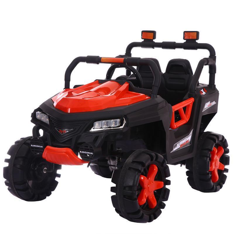 Ел-мобіль T-7844 EVA RED джип на Bluetooth 2.4G Р/У 2*6V4AH мотор 4*15W з MP3 115*68*77 /1/