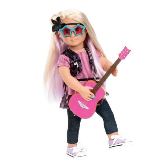 Велика дитяча лялька Лейла, 46 см, Our Generation