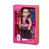 Велика дитяча лялька Лейла, 46 см, Our Generation, фото 4