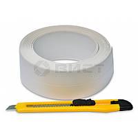 Стрічка-бордюр для ванн 41ммх3,2м + ніж 10-502 Favorit // Лента-бордюр для ванн + ніж