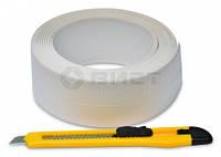 Стрічка-бордюр для ванн 62ммх3,2м + ніж Favorit 10-503 | нож
