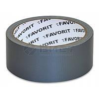 Стрічка клейка армована універсальна 50ммх50м Favorit 10-551 | лента клейкая армированная универсальная