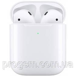 Наушники TWS AirPods 2 with Wireless Charging Case (MRXJ2RU/A - Airoha chipset) H/C