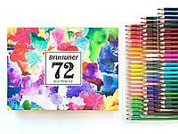 Набор для творчества цветные масляные карандаши 72 цвета