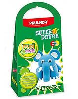Маса для ліплення Слоник рухливі очі Paulinda Fun 4 one Eelephant PL-1543