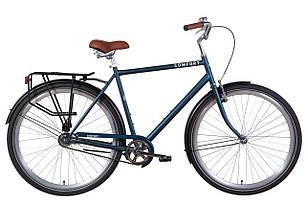 """Велосипед 28"""" Dorozhnik COMFORT MALE 2021 (серый с черным (м))"""