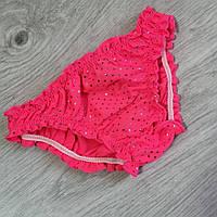 Трусики для купания на девочку, рост 86, цвет ярко-розовый