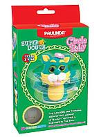 Маса для ліплення Кіт заводний механізм зелений Paulinda Super Dough Circle Baby PL-081177-3