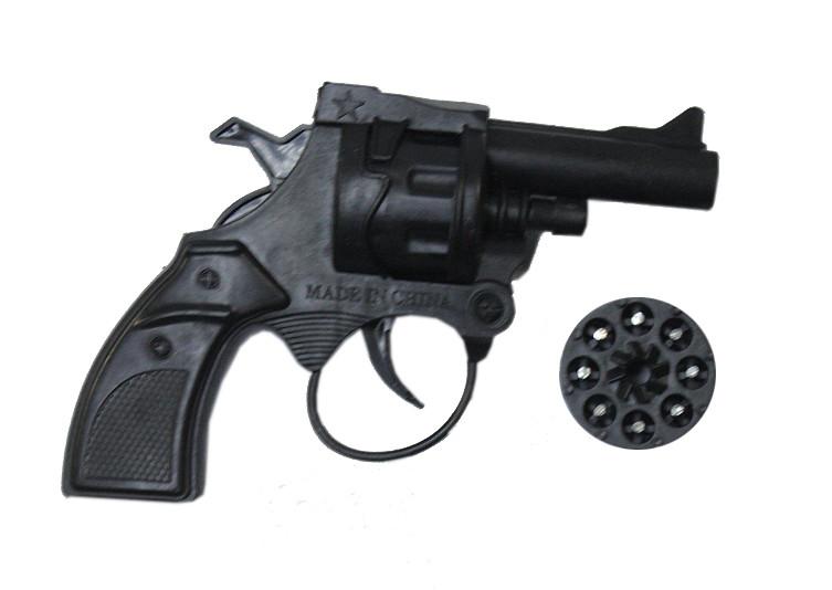 Пистолет (револьвер) с пульками 201AB