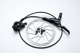 Тормоз диск. передн. гидравл. NUTT Y-2 F800 с ротором 160мм c адаптером