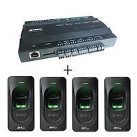 Биометрический контроль доступа inBio