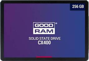 """Твердотільний накопичувач (SSD) 256 Gb (2.5"""") Goodram CX400 SATA III (R/W: 550/490 Mb/s)"""