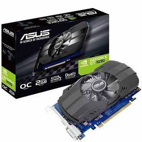 Відеокарта ASUS GT 1030 2GB GDDR5 (64bit) (1252/6008) (DVI, HDMI) (PH-GT1030-O2G)