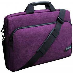 """Сумка для ноутбука Grand-X 15.6'' SB-139 Purple (SB-139P) сумка, 15.6"""", поліестер, потовщені стінки"""