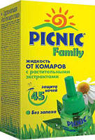 Жидкость от комаров Picnic Family 45 ночей 30 мл (4820185020015)