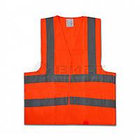 Жилет сигнальний оранж 16-631 Technics // Жилет сигнальный
