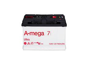 Авто аккумулятор A-Mega Ultra 75 Aмпер