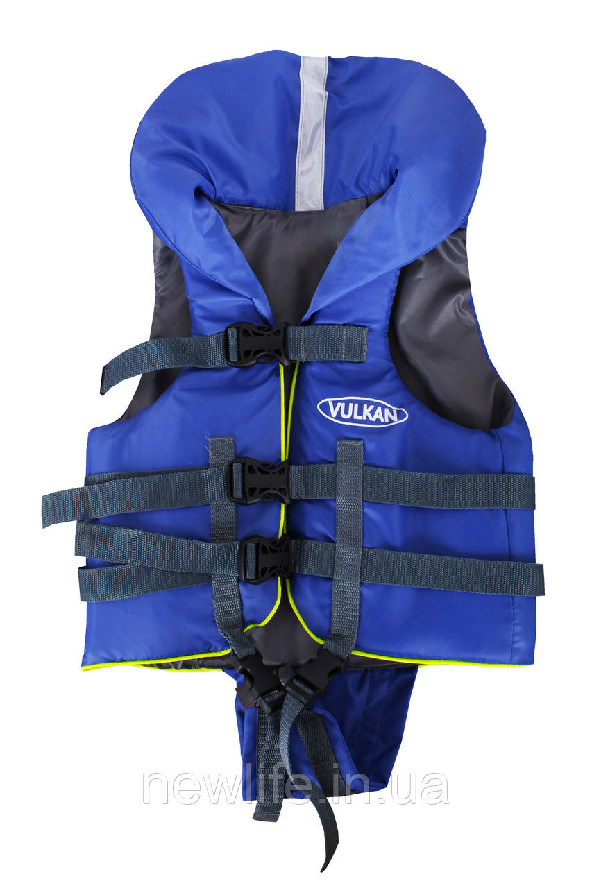 Спасжилет Vulkan нейлон 0-15 кг синий