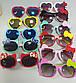 Дитячі сонцезахисні окуляри для дівчинки у формі сердечок з бантиком 1 шт., фото 4