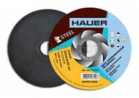 Диск шліфувальний по металу, 180х6,0х22,  17-318 Hauer // Диск шлифовальный по металлу