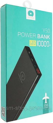 Power Bank WUW Y50 10000 mAh Li-pol 2USB 2.1 LCD A