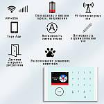 Умная сигнализация для дома Wi-smart AP20MAX с Wi-Fi, GSM сигнализация в максимальной комплектации, фото 3