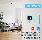 Розумна сигналізація для дому Wi-smart AP20MAX з Wi-Fi, GSM сигналізація в максимальній комплектації, фото 5