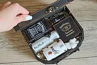 Мужской подарочный набор в деревяной коробке