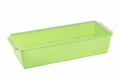 Ящик для розсади Flora з піддоном салатний (АС 38938000)