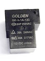 Реле электромеханическое  GK-A-1A-12D;  12VDC